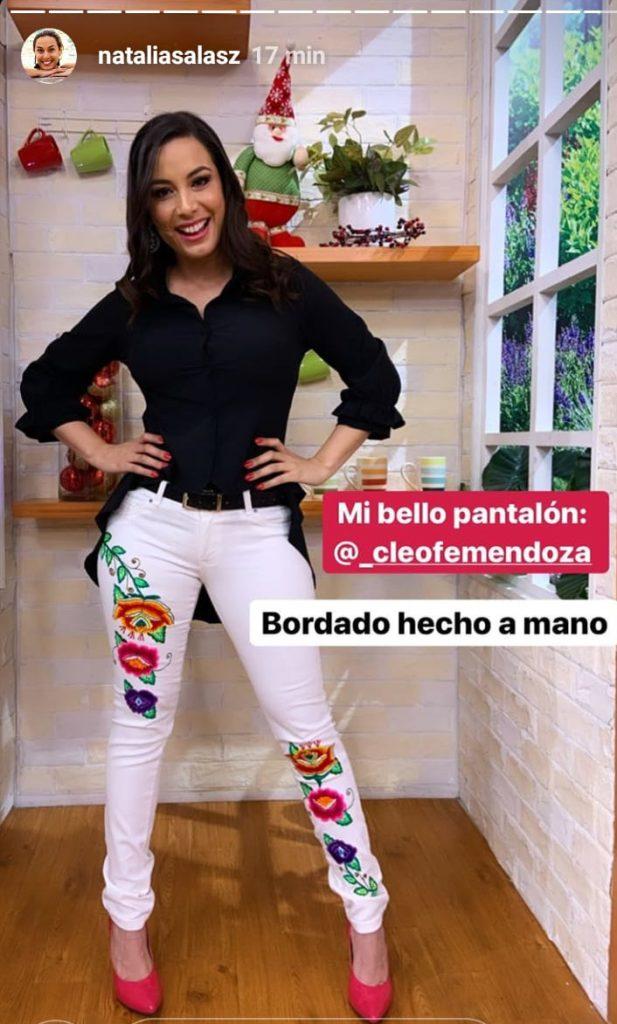 Pantalones Con Bordados Andinos Cleofe